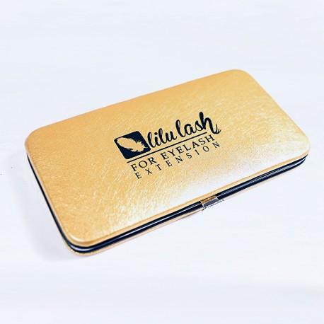 Piórnik na pęsety Magnetic - Jasny Złoty