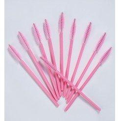 Szczoteczki do rzęs 10szt. Light-Pink